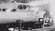 Sea Boarder being built in 1951