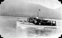 Sandpiper in Alaska Cruiser Race 1928